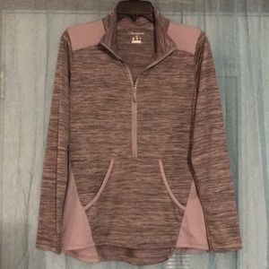 Gray Champion Pullover Athlete Top - Size M